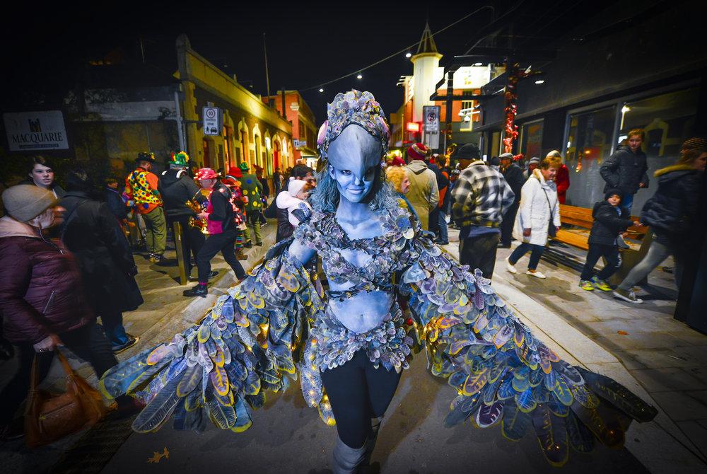 The Harpy Artist: Ayrlie Lane Photographer: Reg Ryan