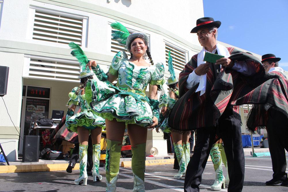 Bolivian Fokloric Dancers