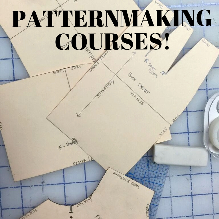 Our instructors are giving more chances to perfect your patternmaking skills!
