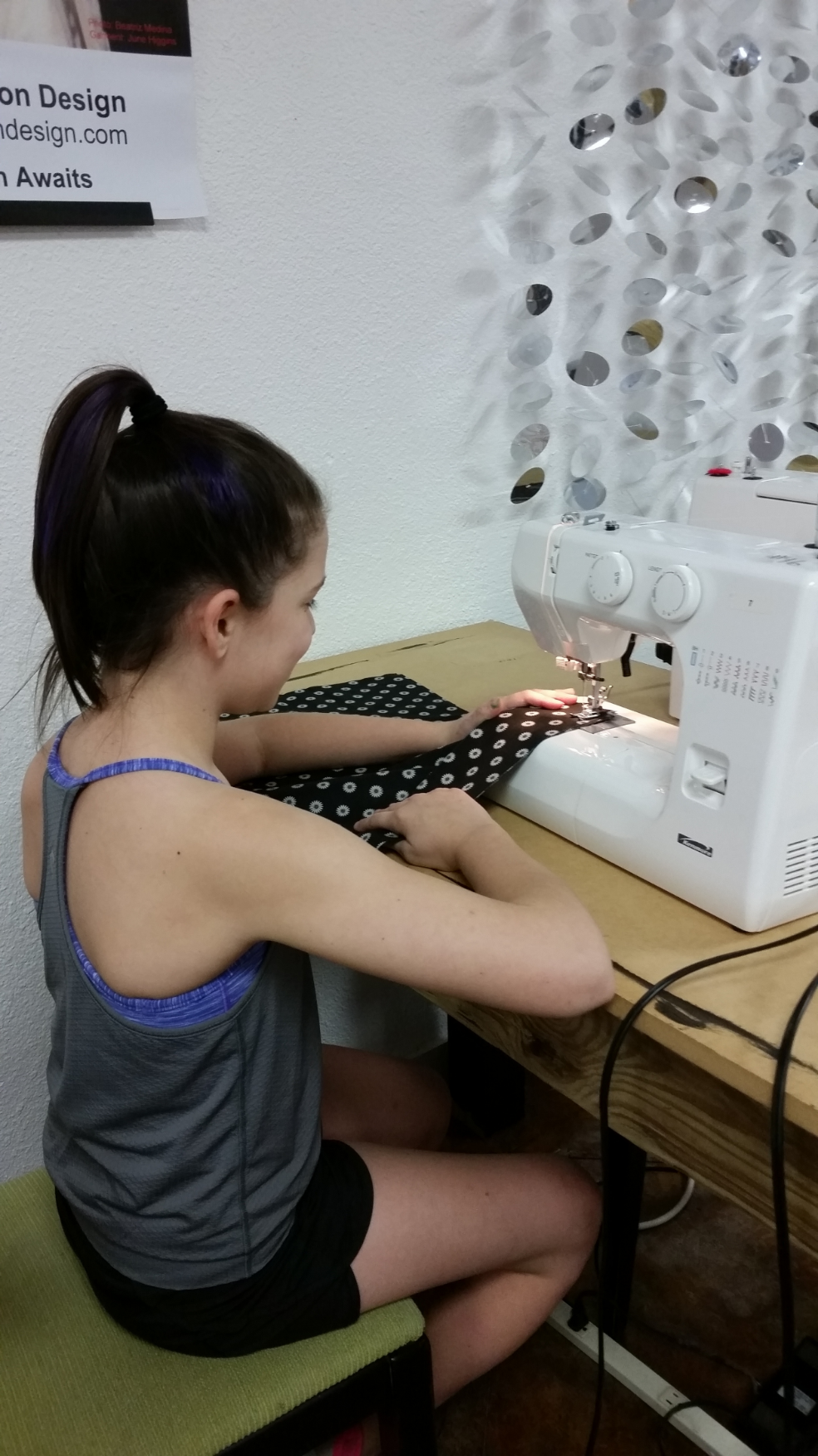 Student Spotlight Kids Sewing