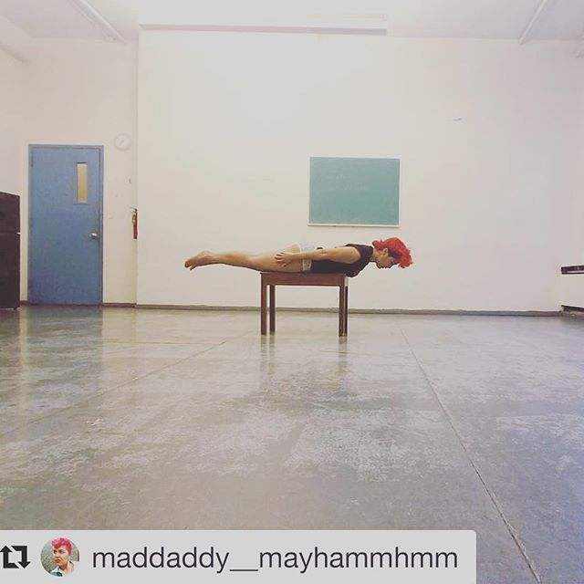 Our marvelous star, @maddaddy__mayhammhmm, is cooking up some beautiful moves! #womeninfilm #queerfilm #queerart #ballet #moderndance #choreography #blackgirlmagic #musical #dance #queerlove