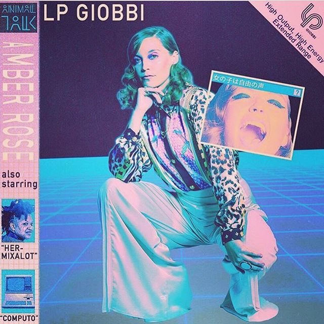 We are so proud of our synth warrior @lpgiobbi & her first 🔥 single #amberrose. Put it on & dance until you pass out.  Featuring our favorites @hermixalot @computo @weareanimaltalk. 🌟 📸: by our love @iironic 🎨: @lordess.foudre 🌹: @amberrose