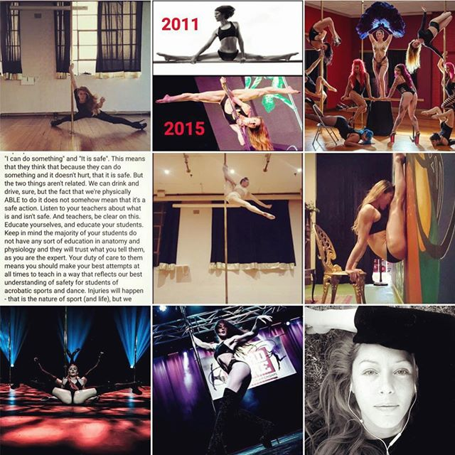My 2018 #topnine - 3 of me dancing Russian Exotic 💜 - 2 of my talk-posts 🗣💁‍♀️ - The epic @bottomsupdance staff pic 🔥🌋 - Pole tricking 💪 - Face selfie 🌙 - Weird wall stretch 👯‍♀️ . - BRING ON 2019!💥 . . . . . . . . . . . #lisad #lisadee #bottomsupfierce #getyourbottomsup #russianexotic #lisaexotic #poledance #poledancer #poledancing #poleart #polesport #poledancersofinstagram #ig_poledance #poledancersofig #exoticpole #pdexotic #polesphere #loudmouth #russianexoticflow #modernexotic