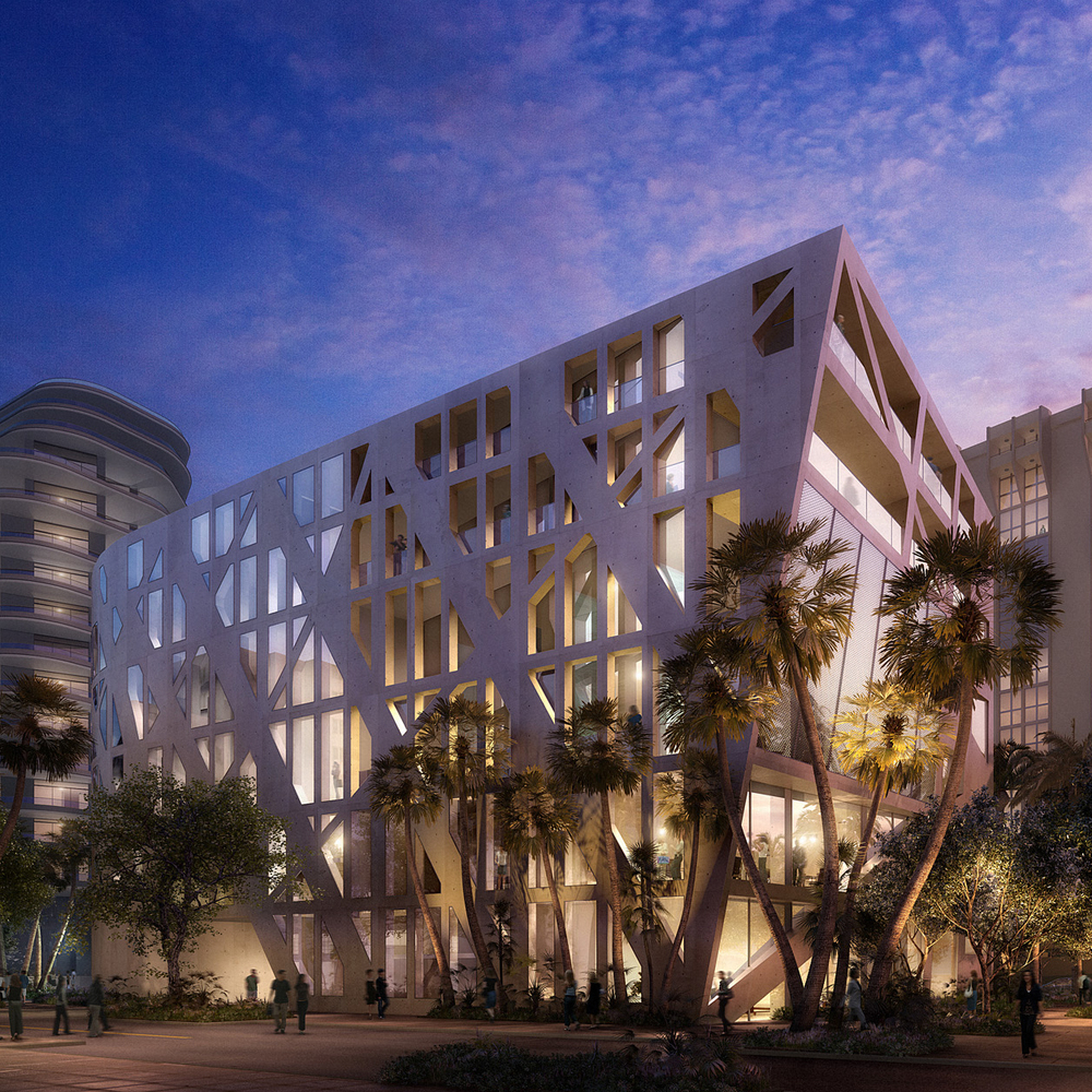 Faena Miami Cultural Center  Office for Metropolitan Architecture