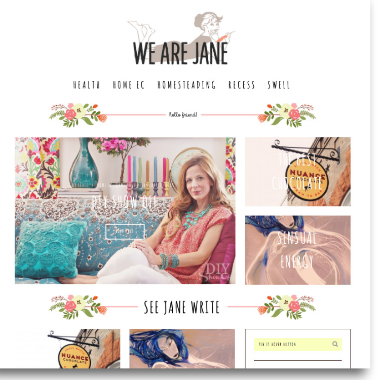 New Site: www.wearejane.com | Home Ec | Health | Homesteading | Swell Stuff