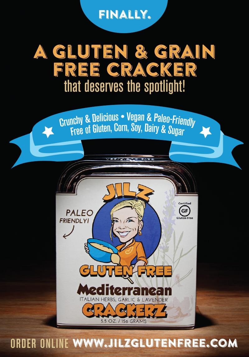 Jilz Gluten Free Crackerz ... order online. #glutenfree #paleo #vegan