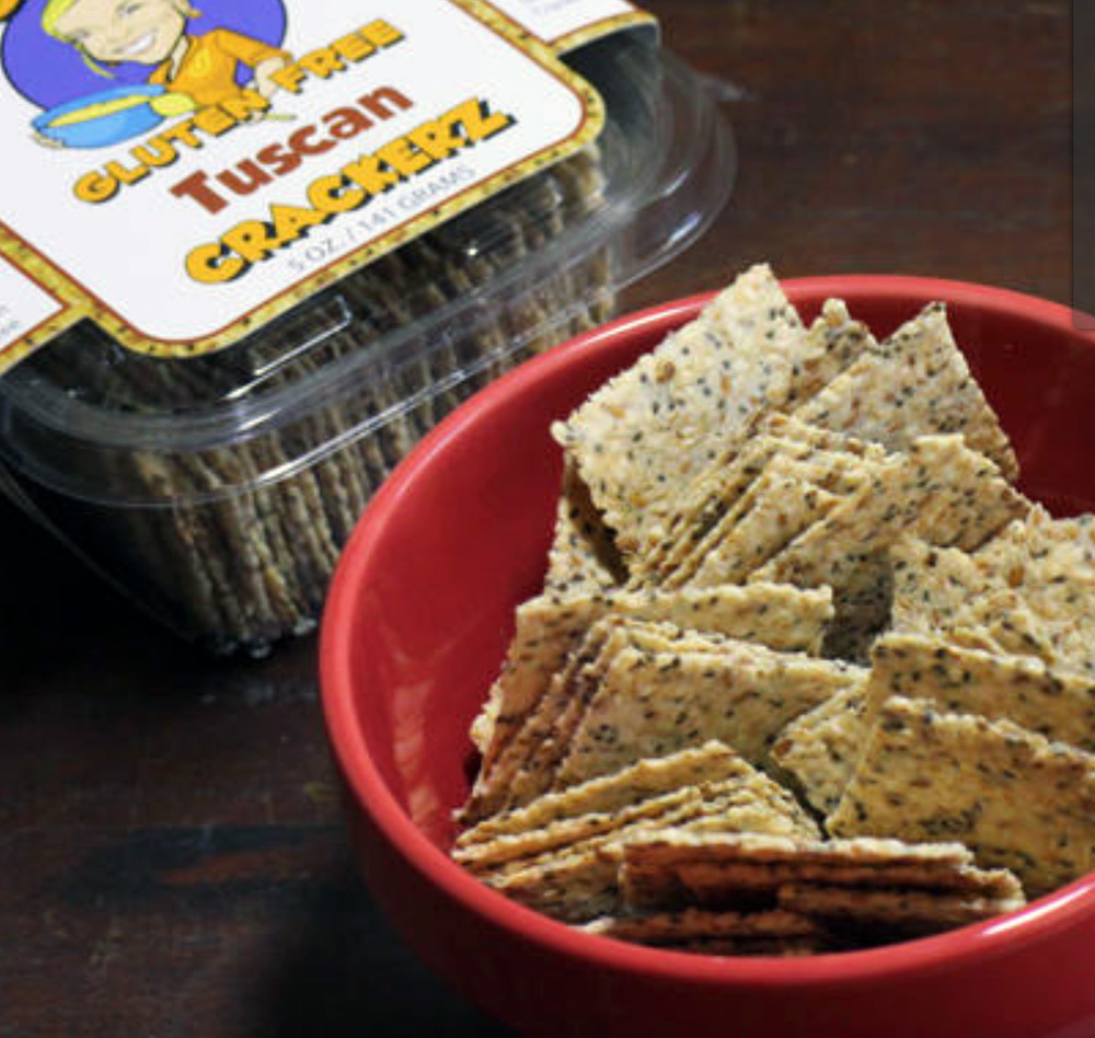 A convenient cracker for on-the-go. Jill Gluten Free Crackerz. #paleo #vegan #glutenfree #grainfree