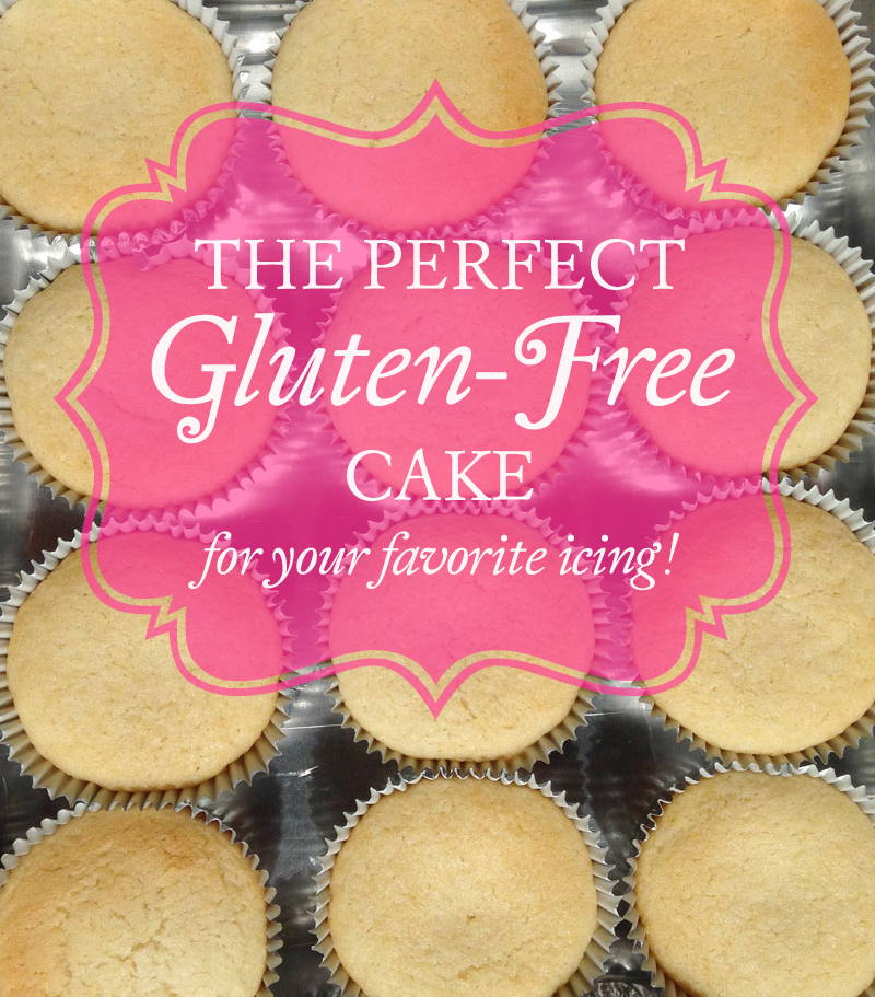 Perfect #glutenfree white cake made with Authentic Foods Steve's GF Cake Flour. No gums. Dairy free.