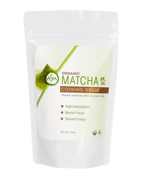 Decadent Matcha Smoothie - Aiya Organic Matcha Green Tea www.lexieskitchen.com