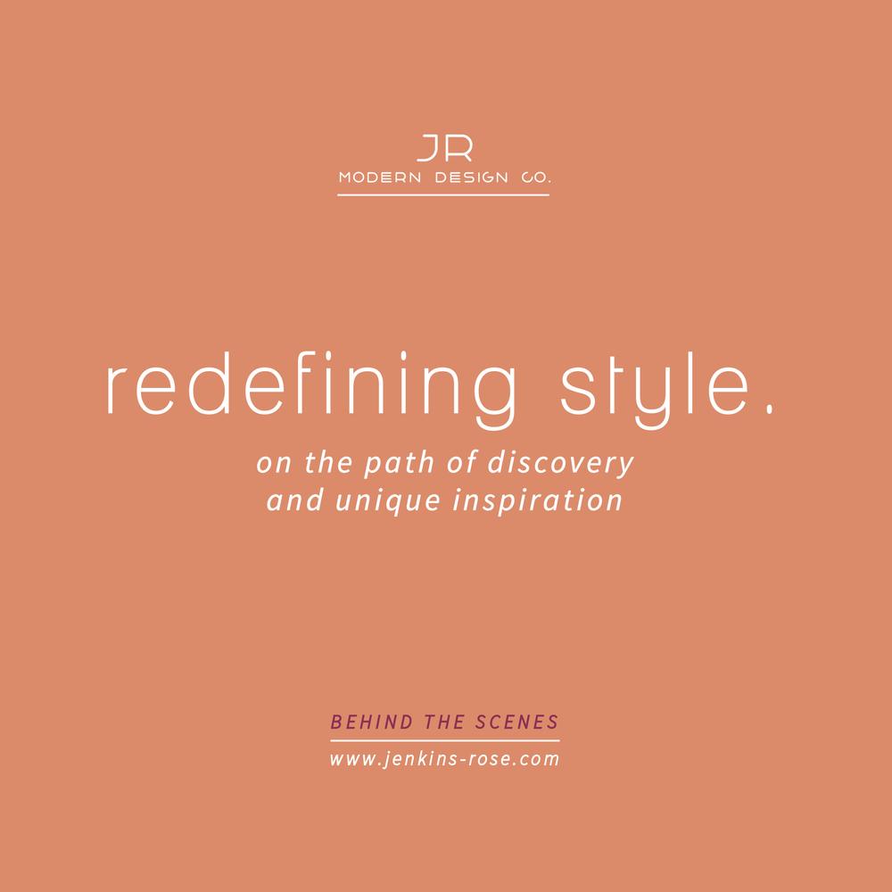 JR - redefining style