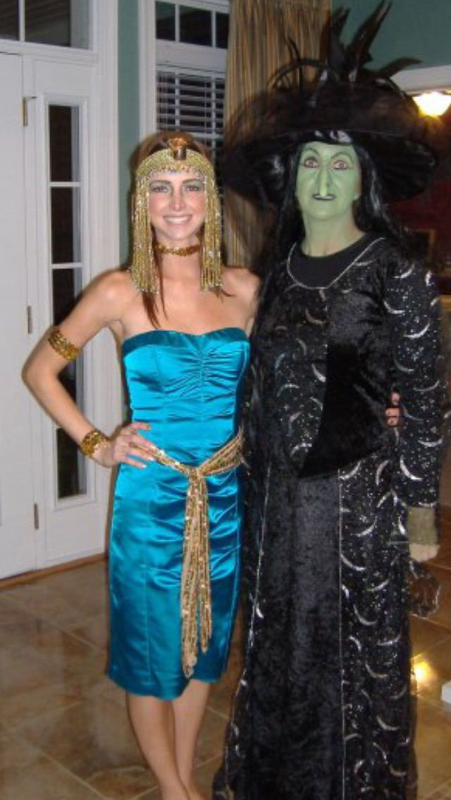 My Mother and Me...clearly the love for Halloween runs in the family.