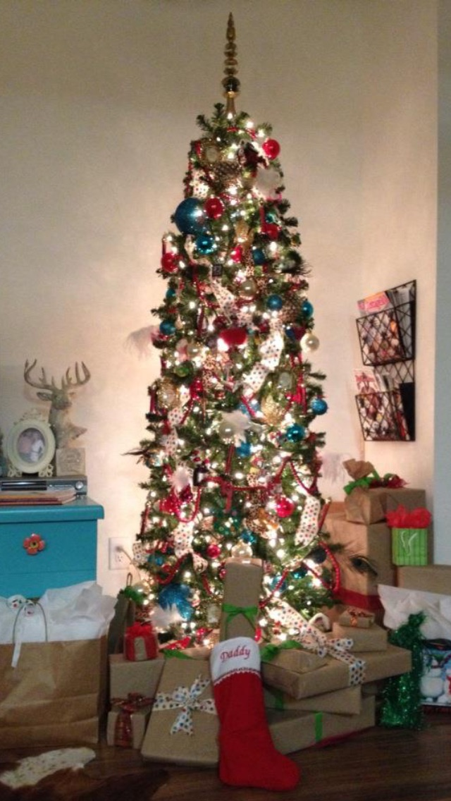 My 2012 Christmas tree, is by far my favorite!
