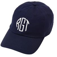 CLICK THE PHOTO TO SNAG UP YOUR VERY OWN MONOGRAMMED CAP...ONLY $15