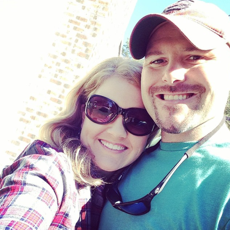 SHE'S RIGHT, YOU WON'T FIND A SOLO SELFIE ON HER INSTAGRAM FEED, BUT WE DID FIND THIS SUPER CUTE ONE of her and her husband!