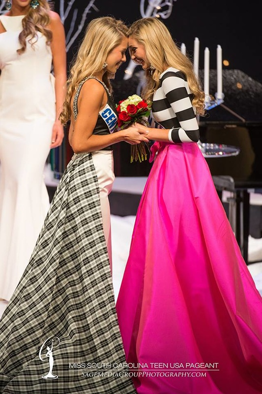 Miss sc teen usa 2015  -Gown by Canary designs