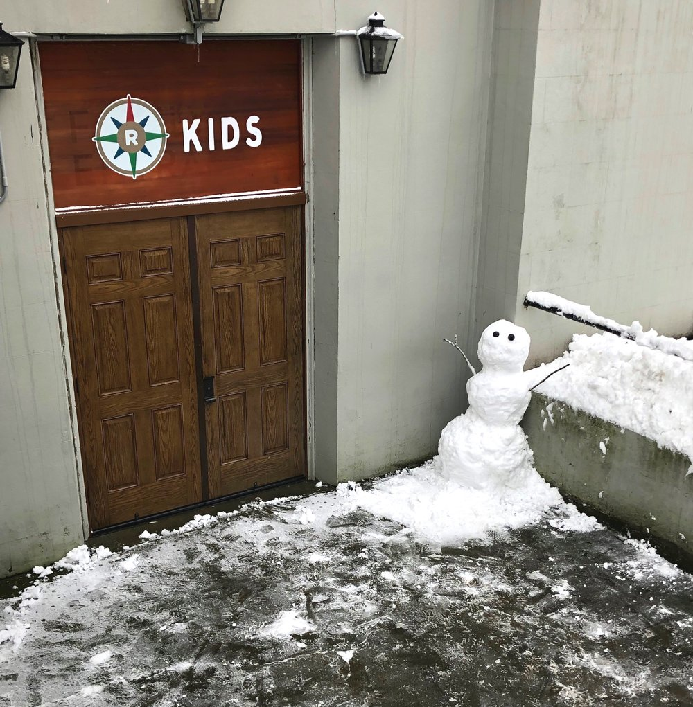 Snowmagedon 2019 - and Kid's Ministry