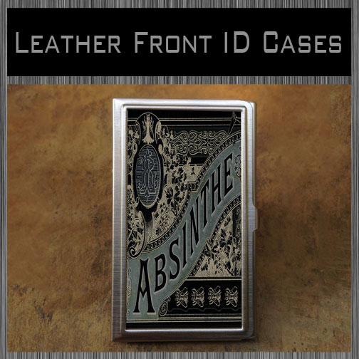 Leather Front ID Cases