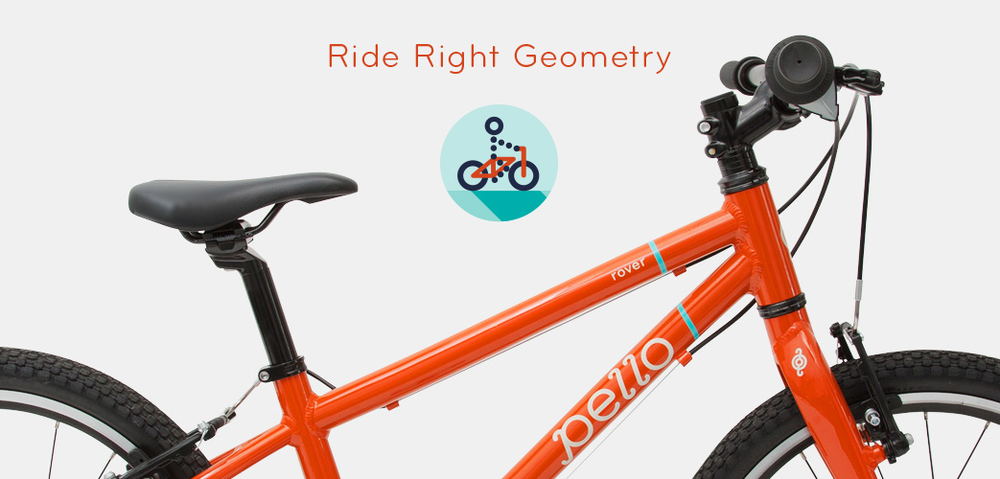 Pello lightweight kids bikes custom geometry
