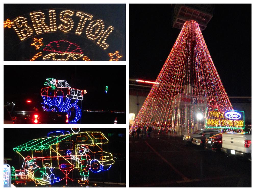 Bristol Speedway in Lights