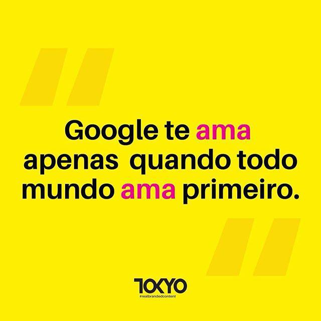 Ah, o amor 💛 #Google #tokyocontent #realbrandedcontent