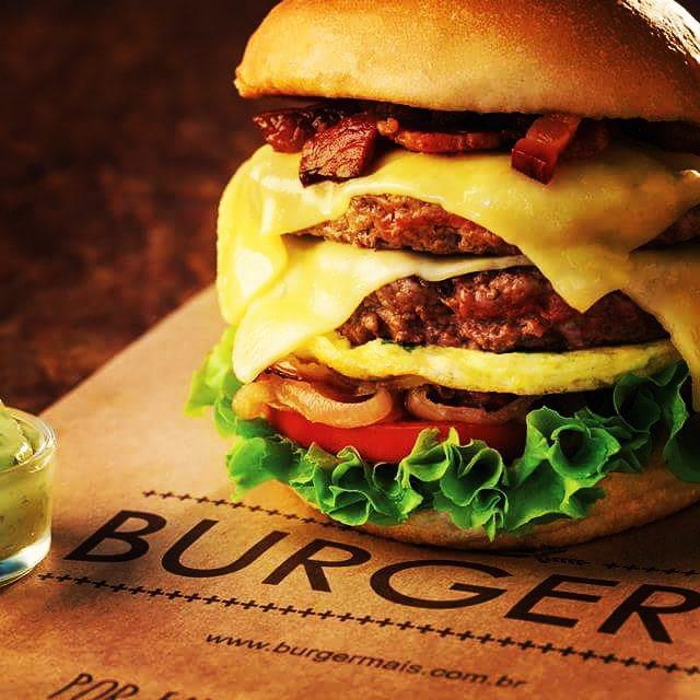 Fome? Sexta feira é dia de Burger+  #clientedelicia #matandoafomecomsabor