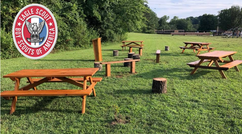 Brilliant Rivermont Elementary Outdoor Classroom Eagle Scout Project Uwap Interior Chair Design Uwaporg