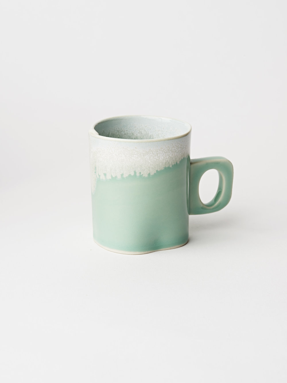 Mini Cup w/ Handle - Turquoise