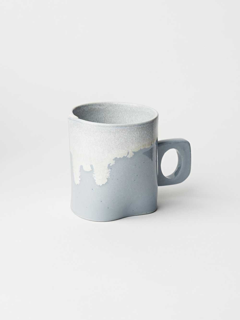 Mini Cup w/ Handle - Light Blue