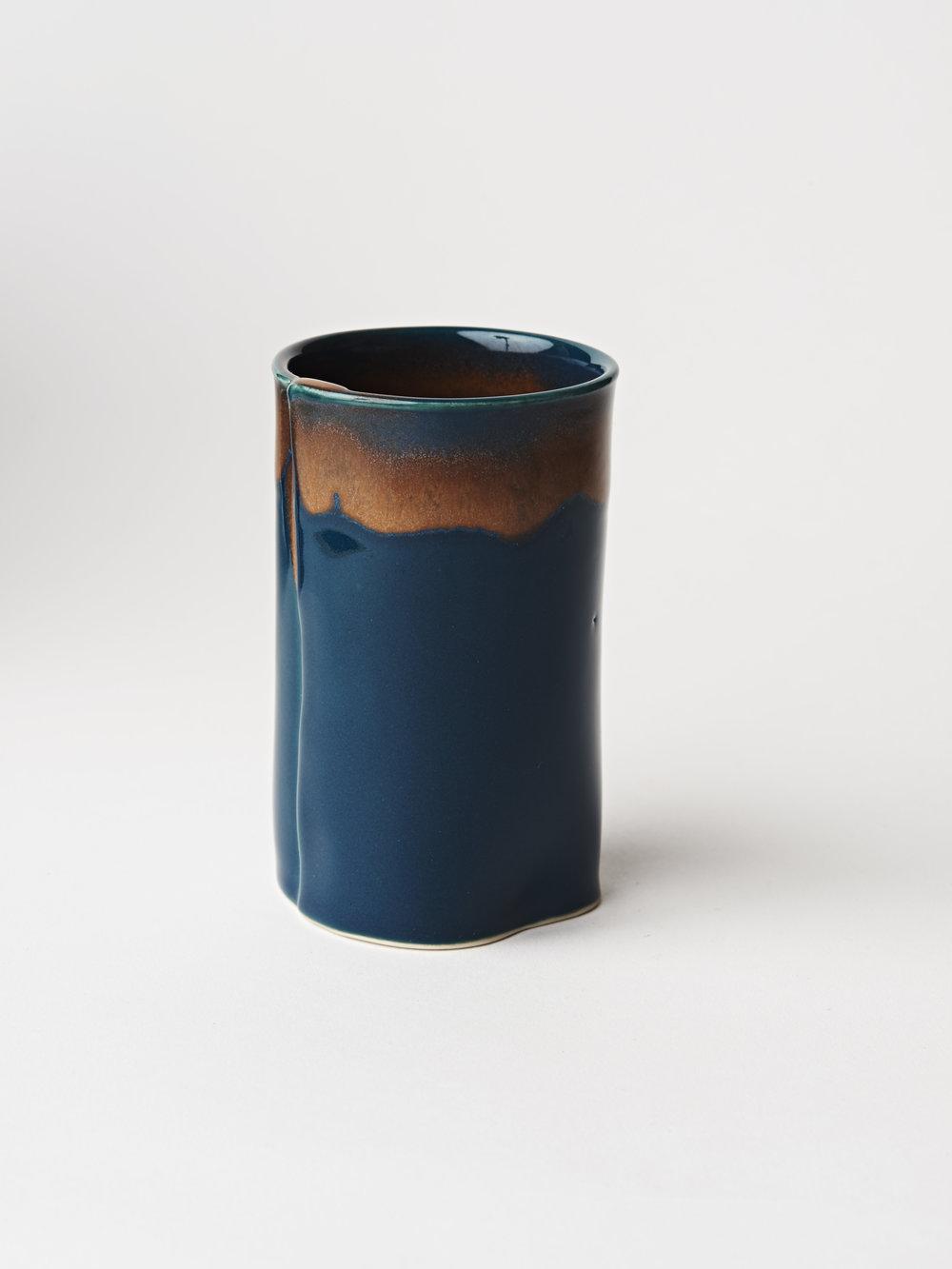 Bud Vase - Teal Blue