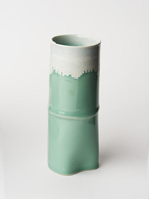 Color Vase Wilcoxson Brooklyn Ceramics