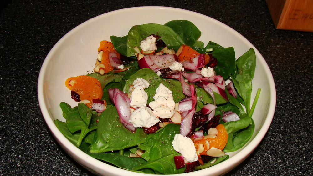 Salad recipe I had posted on littlechefbigappetite.com