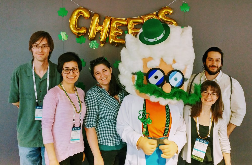St. Patrick's Day at Pittcon opening night