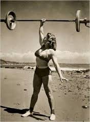 women barbell overhead 1950's.jpg
