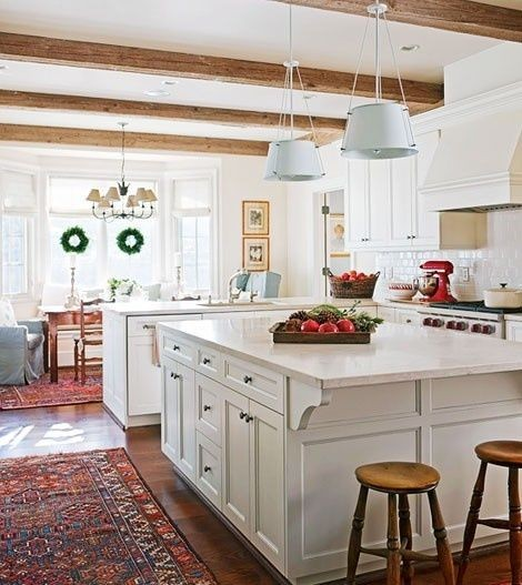 Lovely-kitchen-beams-love-the-white-wood-with-the-Oriental-rugs.jpg