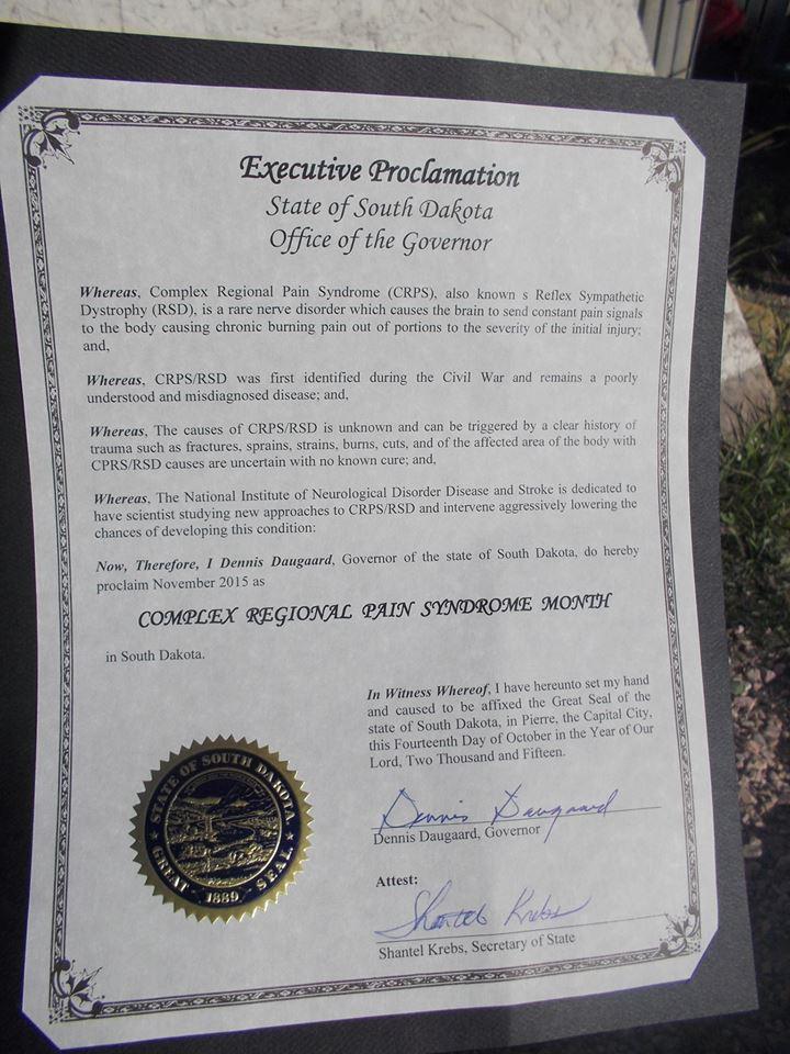 South Dakota 2015 Proclamation.jpg