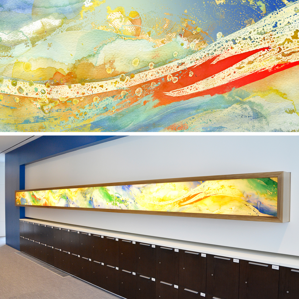 Corporate Art - ExxonMobil Water Series