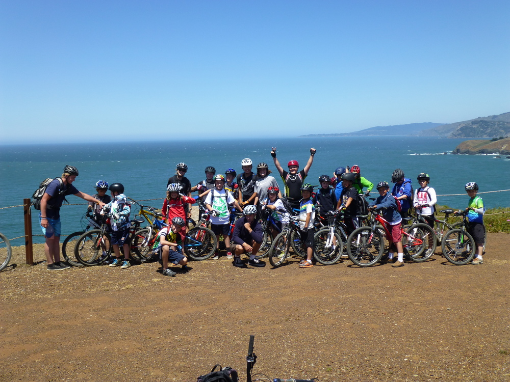 Riding on the Coast in the Marin Headlands