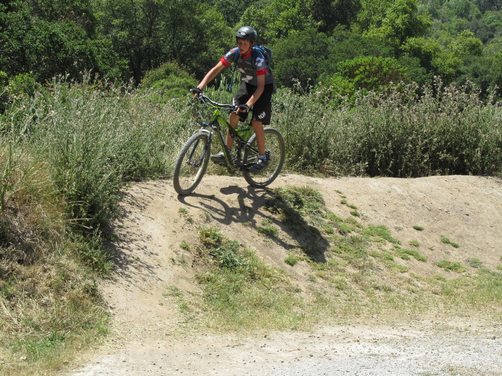 Learning Bike Skills at China Camp in San Rafael