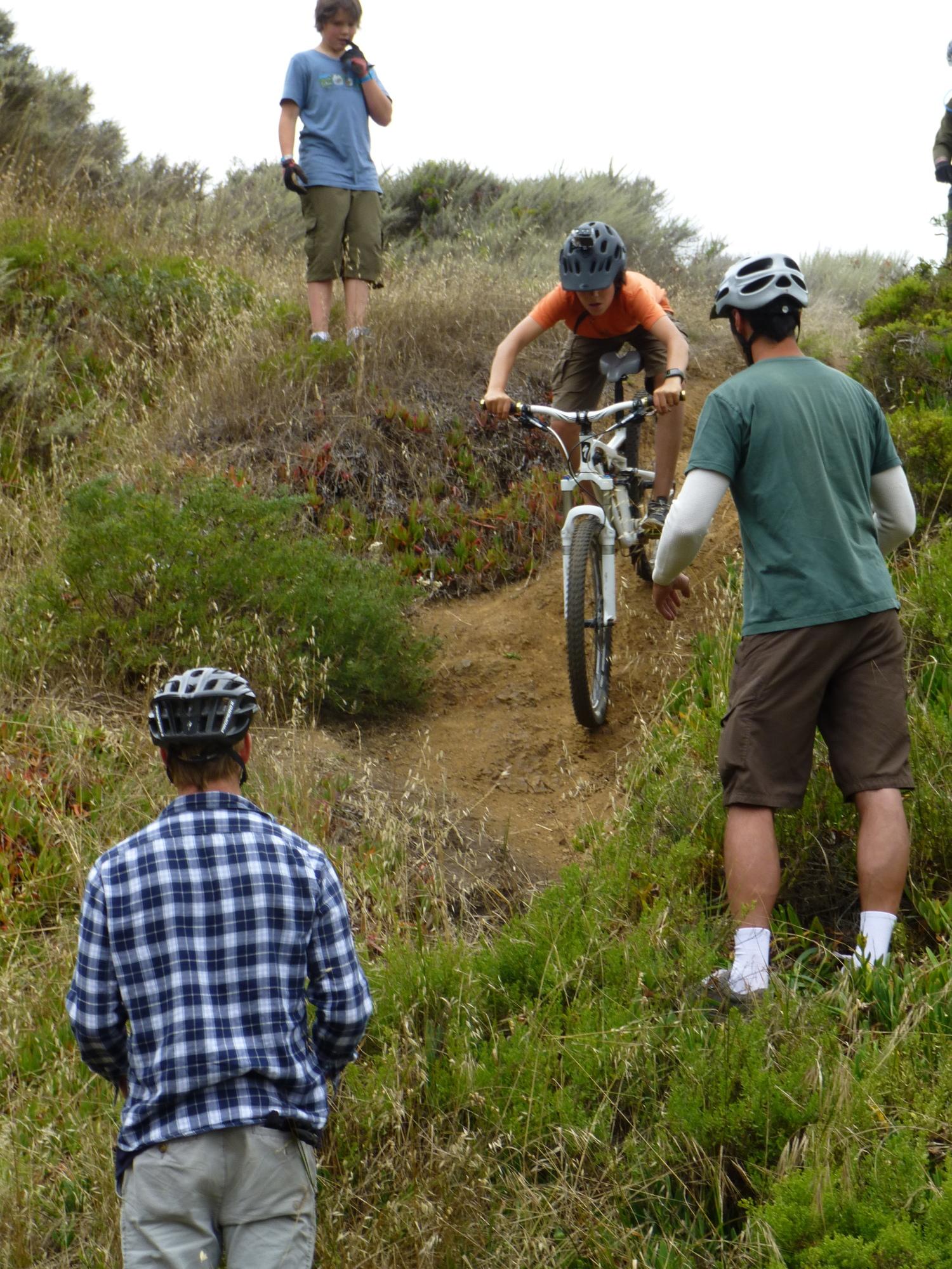 Mt Tam Bikes Camp Skill Coaching