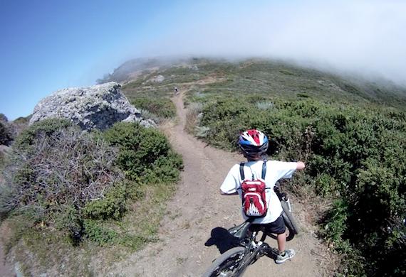 Mountain Bike Coastal View Trail Mt tamalpais