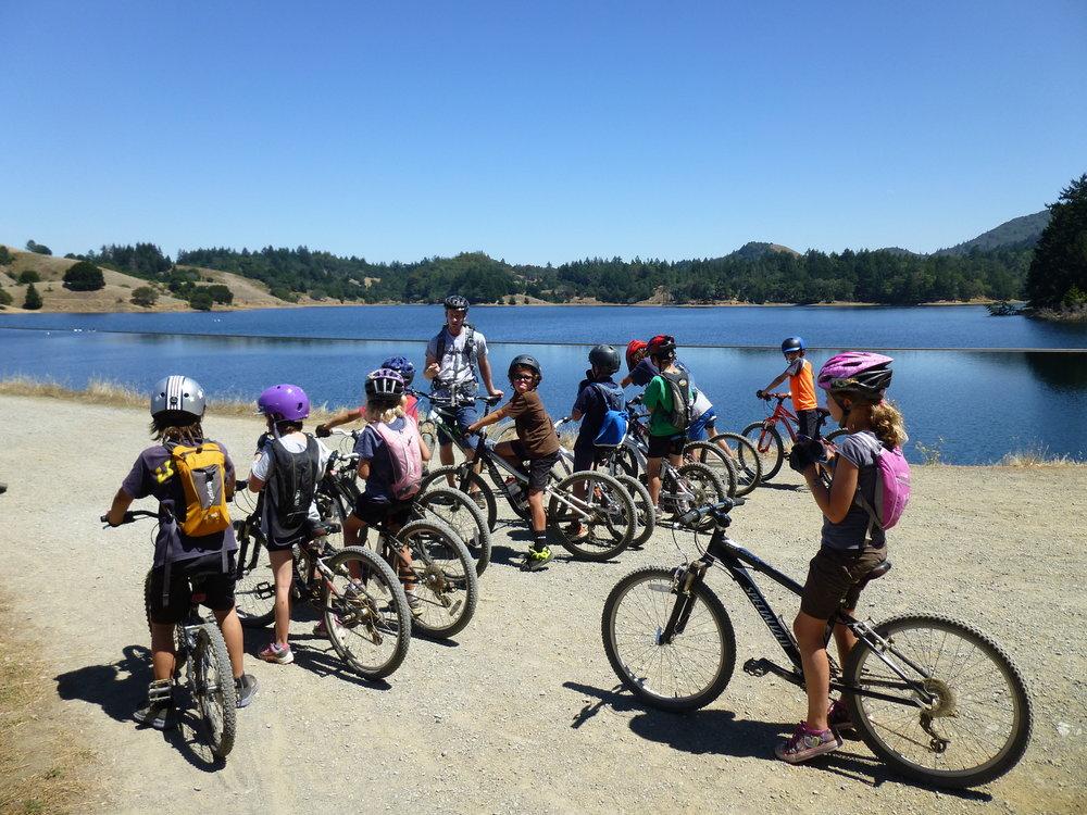 Mountain Biking Bon Tempe Lake Fairfax