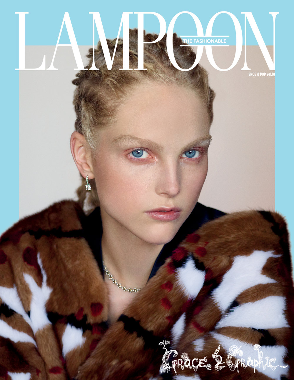 LAMPOON Magazine Sept Issue Covershoot
