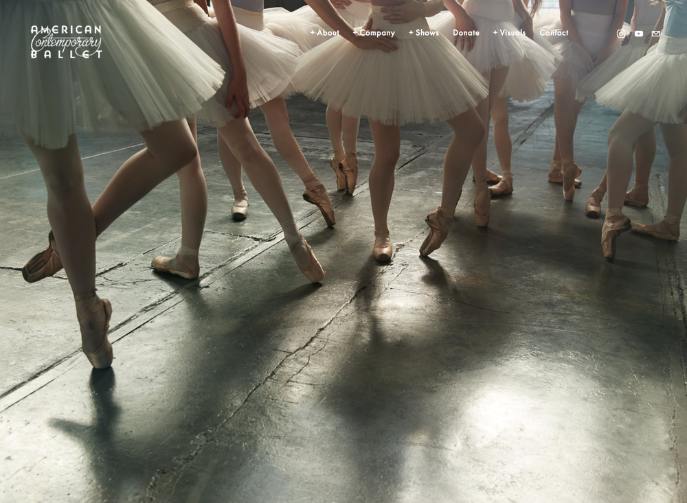 American Contemporary Ballet shot by Will Davidson