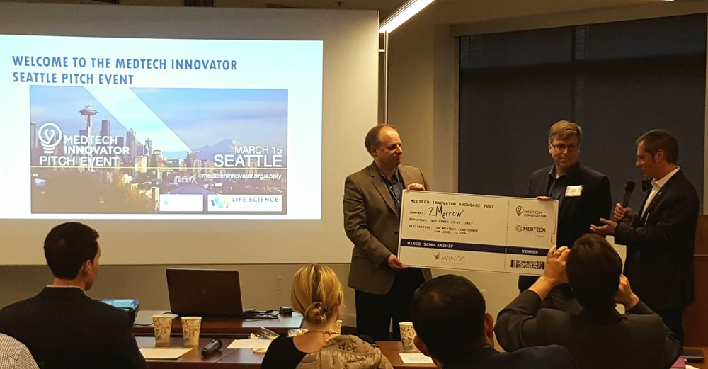 2017 Seattle MedTech Innovator - Masterson - 2Morrow