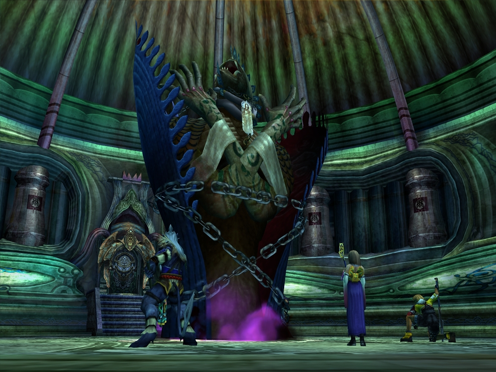 Big shadow boss Anima,  Final Fantasy X