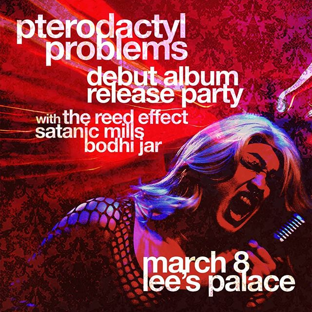 ** Wicked Show announcement!! ** Super excited to announce that we'll be joining @pterodactylproblems for their debut album release at @leespalace with @thereedeffect and @satanicmills on March 8th!  Mark those calendars and follow the ticket link!  Early bird tickets are only $8 and available here: www.pterodactylproblems.com/shows  Get em while they're cheap!