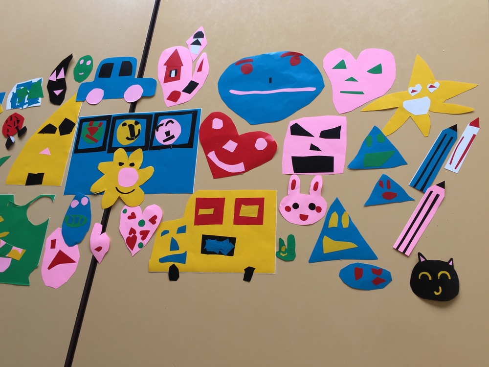 Look at how great the children's  stickers turned out!