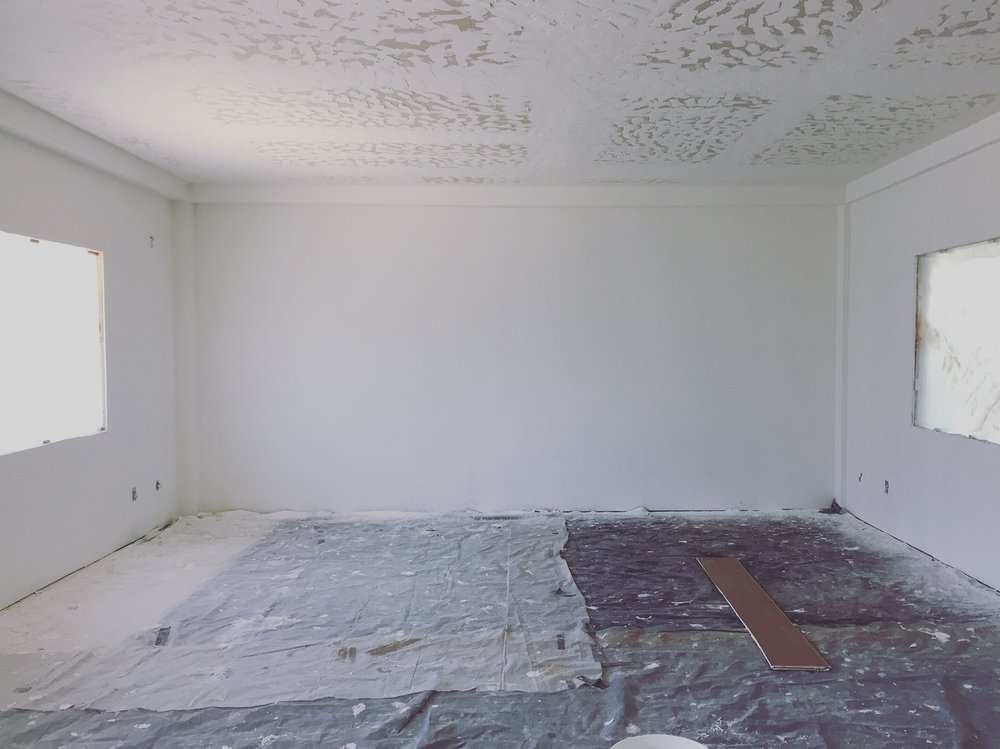 BEFORE: Empty Wall