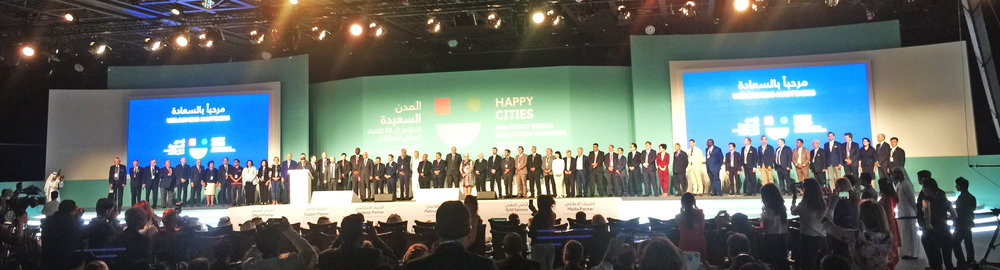 World Leaders from 65 different countries across the globe gather at the International Real Estate Federation (FIABCI) 69th World Congress in Dubai, United Arab Emirates on April 30th, 2018. FIABCI is the most representative non-political organization of the real estate industry in the world.