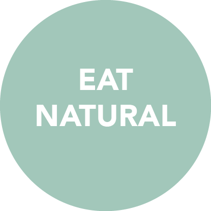 Eat natural - Start reading the labels - if it isn't natural, then don't eat it